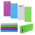 Dual USB Power Bank Case Kit 8x18650 LCD Battery Charger