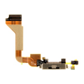 Apple iPhone 4 System Connector+Flex Cable black