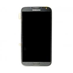Samsung GT-N7100 Frontcover + Display Unit titan-grey