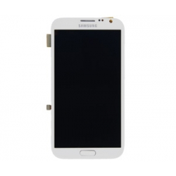 Samsung GT-N7100 Frontcover + Display Unit ceramic white