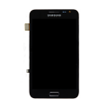 Samsung GT-N7000 Frontcover + Display Unit carbon-blue