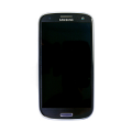 Samsung GT-I9300 Frontcover + Display Unit pebble-blue