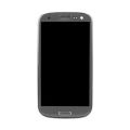 Samsung GT-I9300 Frontcover + Display Unit grey