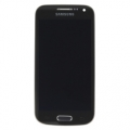 Samsung Frontcover + Display Unit for Galaxy S4 mini LTE deep black
