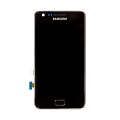 Samsung GT-I9100 Frontcover + Display Unit black