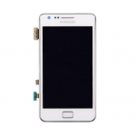 Samsung GT-I9100 Frontcover + Display Unit white