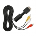 Audio Video Cable Lead For PS2 Sony Playstation 2