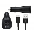 Fast Charging Dual Car Charger (Type C)