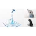 Stand Faucet for Mobile Phones and Tablets blue
