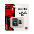 Kingston microSDHC Card 32GB C4 + SD Adapter