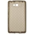 Trendy8 Diamond Series TPU Sleeve for Lumia 820 smokey grey