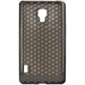 Trendy8 Diamond Series TPU Sleeve for LG Optimus L7 II smoke grey
