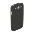 Trendy8 Leather Flip Case for Galaxy S3 black