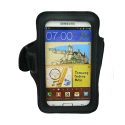 Sports Armband Case for Galaxy Note black